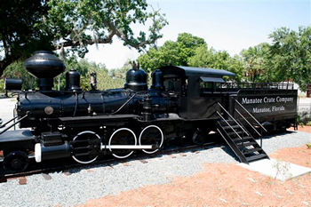 Manatee Village Historical Park Train